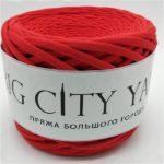 Βαμβακερό νήμα για πλέξιμο, Big City Yarn, Κόκκινο
