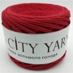 Βαμβακερό νήμα για πλέξιμο, Big City Yarn, Κάρμιν