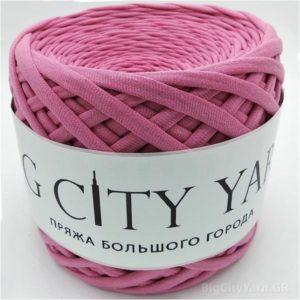 Βαμβακερό νήμα για πλέξιμο, Big City Yarn, Αποξηραμένο τριαντάφυλλο