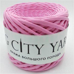 Βαμβακερό νήμα για πλέξιμο, Big City Yarn, Θερμό ροζ
