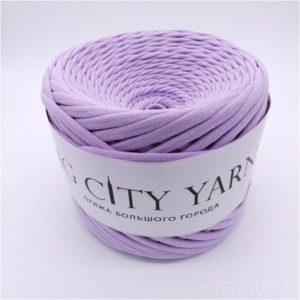 Βαμβακερό νήμα για πλέξιμο, Big City Yarn, Απαλό λιλά