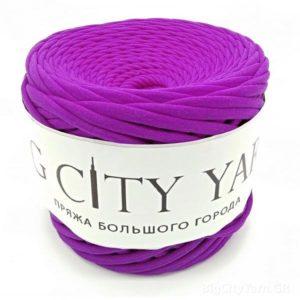 Βαμβακερό νήμα για πλέξιμο, Big City Yarn, Μωβ