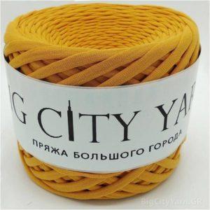Βαμβακερό νήμα για πλέξιμο, Big City Yarn, Μουσταρδί