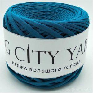 Βαμβακερό νήμα για πλέξιμο, Big City Yarn, Πετρόλ