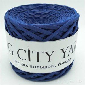Βαμβακερό νήμα για πλέξιμο, Big City Yarn, Ναυτικό μπλε