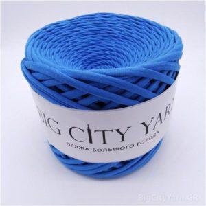 Βαμβακερό νήμα για πλέξιμο, Big City Yarn, Μπλε
