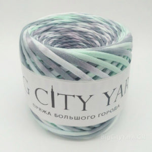 Βαμβακερό νήμα για πλέξιμο, Big City Yarn, Πολύχρωμο