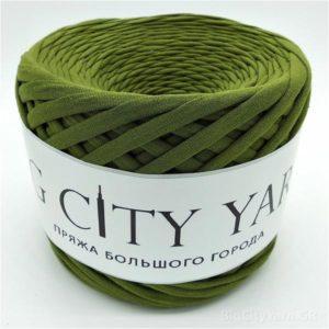 Βαμβακερό νήμα για πλέξιμο, Big City Yarn, Κάκι