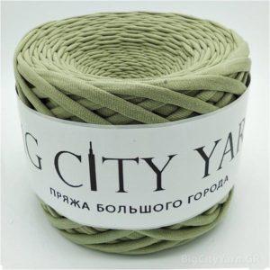 Βαμβακερό νήμα για πλέξιμο, Big City Yarn, Κάκι απαλό