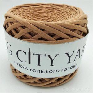 Βαμβακερό νήμα για πλέξιμο, Big City Yarn, Κακάο