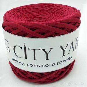 Βαμβακερό νήμα για πλέξιμο, Big City Yarn, Μπορντώ
