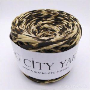 Βαμβακερό νήμα για πλέξιμο, Big City Yarn, Λεοπάρ